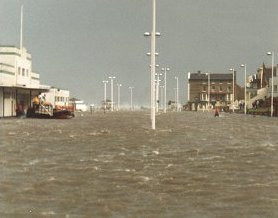 New Brighton, Wirral, February 1990