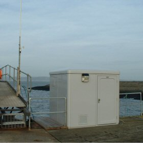 Tide gauge location (old building replaced)